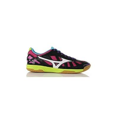 Mizuno Scarpe da Calcetto Indoor, Sala Premium in Black Q1GA1550 01