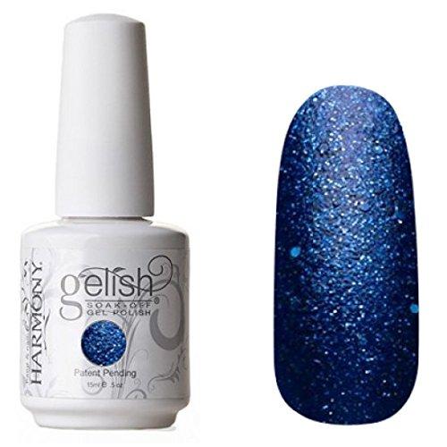 Gelish Holiday Party Blues Gel Polish, 0.5 Fluid Ounce