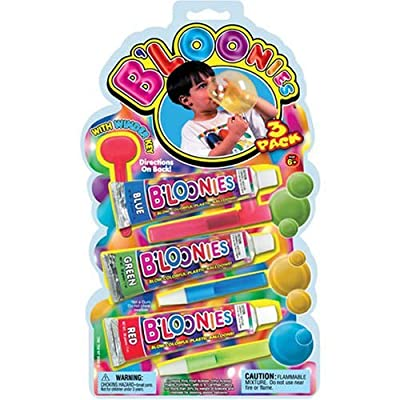 B'loonies Plastic Balloon Variety Large (3 Large Tubes) Great Original Bloonies Bubble Making. 770-1B: Toys & Games