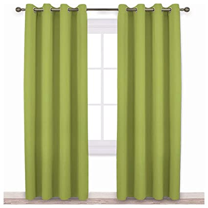 Blackout Curtains Green
