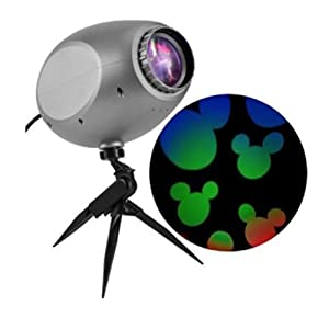 Disney Lightshow Projection Multi-function Multicolor LED Multi-design Christmas Outdoor Stake Light Projector