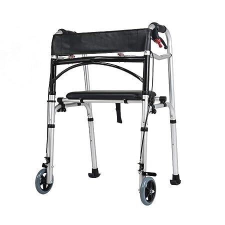 Bbhhyy Ayudas para discapacitados Marco Zimmer, Andador de ...