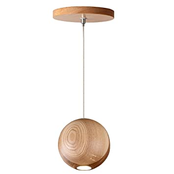 Magideal Holz Hangende Lampe Kronleuchter Decke Lampenschirme Mit G4
