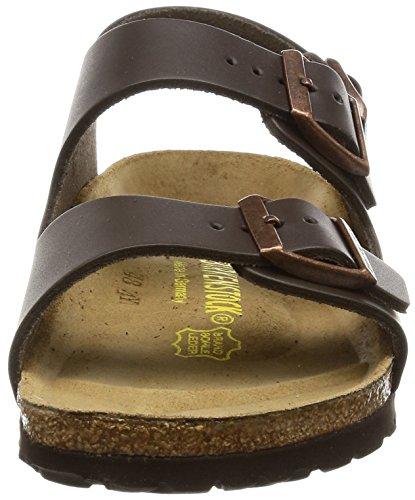 Birkenstock Women´s Milano Dark Brown Leather Sandals 38 (étroit) N 034103 PS5YaOD