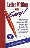 Letter Writing Made Easy!, Margaret McCarthy, 1891661000