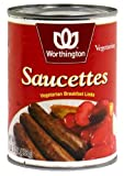Worthington Saucettes Vegetarian Sausage Links -- 19 oz