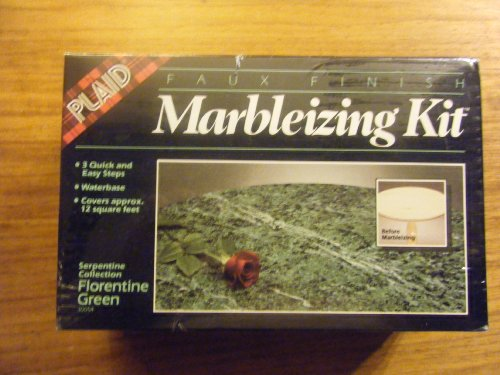 (Serpentine Collection Florentine Green Faux Finish; Marbleizing Kit)