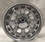 SENDEL T11 ALUMINUM TRAILER WHEEL WITH SILVER MACHINED FINISH 17.5X6.75 8X6.50(165.1)  +0 4.90