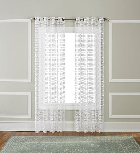 (Renaissance Home Fashion AMELIA Macrame Grommet Panel)