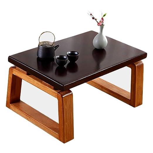 YQJJZX Tatami pequeña Mesa de café y pequeña Mesa de Madera en el ...