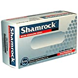 Shamrock 81111-S-bx Food, Work, Nitrile Latex, Powdery, Cheap, Small, Blue