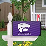 VictoryStore Yard Sign Outdoor Lawn Decorations: Kansas State University Magnetic Mailbox Cover (Design 1).