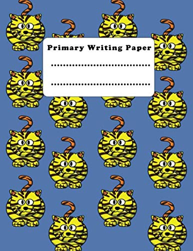 Halloween Classroom Worksheets (Primary Writing Paper: Composition Notebook Large Tiger Notebook to Write in , school)