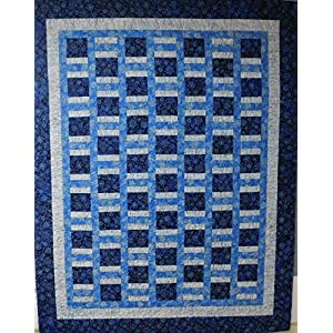 Image of Home and Kitchen Quilt, Twin size quilt.