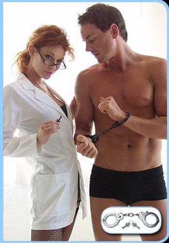 UPC 894415001048, Kinklab Basic Handcuffs, Silver