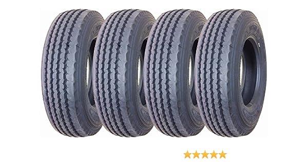 Set of 2 New Heavy Duty All Steel ST235//85R16-14PR TL Trailer Tire