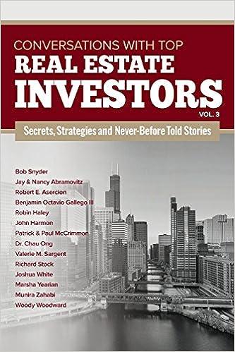 conversations with top real estate investors vol 3 volume 3