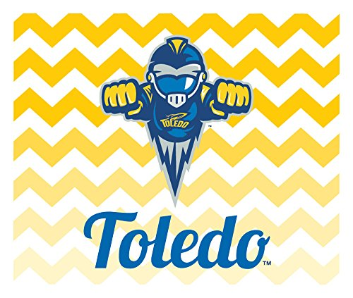 TOLEDO ROCKETS CAR MAGNET-TOLEDO ROCKETS AUTO MAGNET-2 PACK-5 X 6-SQUARE-WILL STICK ON ANY METAL SURFACE