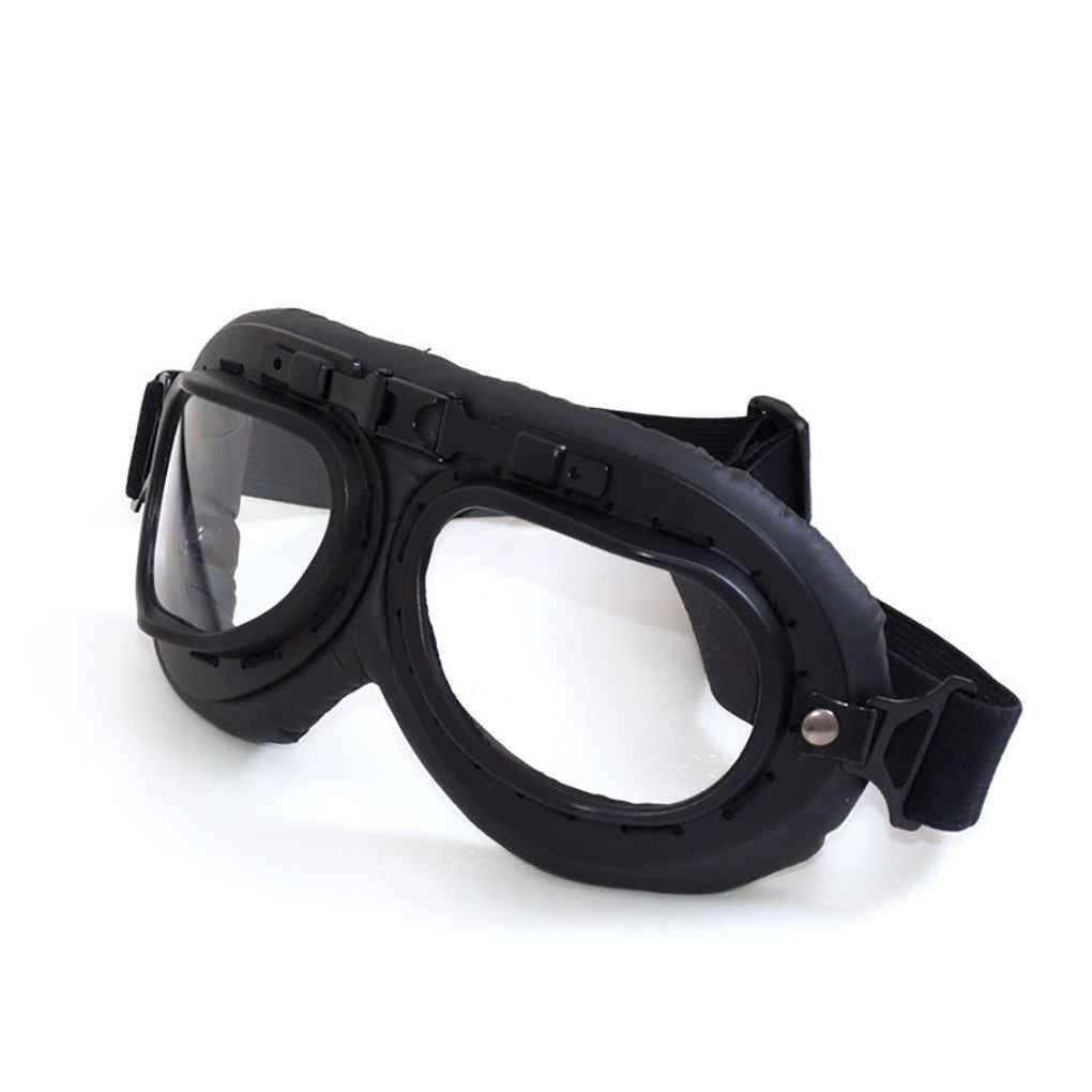 Winddicht Staubdicht Retro Motorrad-Reiten Eyewear Au/ßenmotorradbrille UV-Schutzhelm Dekoration Gl/äser Regard