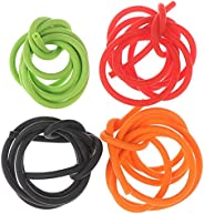 3 Feet/ 1M Archery Peep Sight Tubing Replacement Rubber Compound Bow 4 Colors
