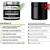 Activated Charcoal Teeth Whitening Powder by PROCOAL - 100% Natural Teeth Whitener Kit, Fluoride-free Charcoal Teeth Whitening Toothpaste | Made in UK