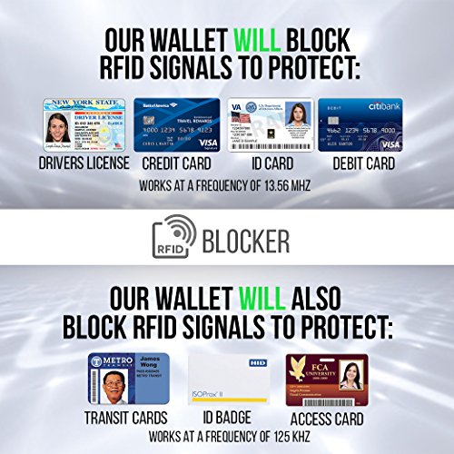 Pebble Passport Gift Wallet RFID for incl Black Blocking Sleeve RFID Box Leather Men and AwpzOqYp