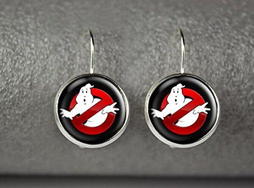 [Ghostbusters earrings, Ghostbusters jewelry] (1980s Costume Jewellery)