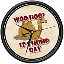 HUMP DAY Wall Clock camel office funny gag gift
