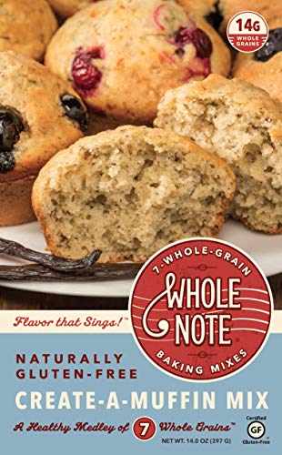 (Whole Note Create-A-Muffin Mix, 7-Whole-Grain and Naturally Gluten-Free (Pack of 3) )