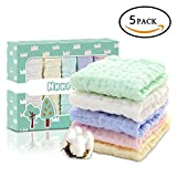 Nkkfrey Baby Muslin Washcloths and Towels –100% Premium...