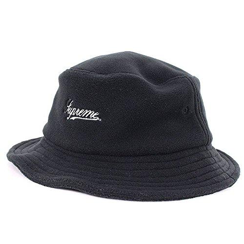 (シュプリーム) SUPREME 【17AW】【 Polartec Crusher Hat】フリースバケットハット(ブラック) 中古 B07FMNBRS6  -
