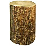 Montana Woodworks MWGCCBOY25 Glacier Country Collection Cowboy Stump, 25 Inches High Occasional Table