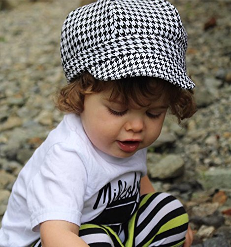 065afba2932ff Baby newsboy cap for spring summer fall - adjustable 50+ UPF sun hat(S   0-9M