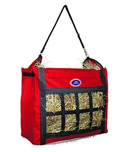 8a6999e0b9 Derby Originals Supreme Nylon Top Loading Slow Feed Hay Bags with  Replaceable Adjustable Carry Strap