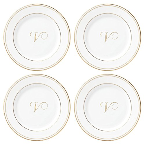 Lenox Federal Gold Script Monogram Dinnerware