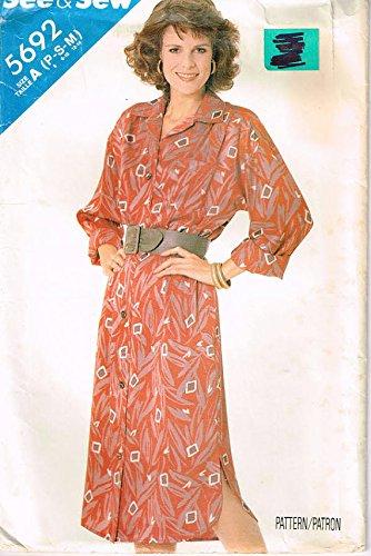 Uncut Vintage Butterick Pattern Dress - 4