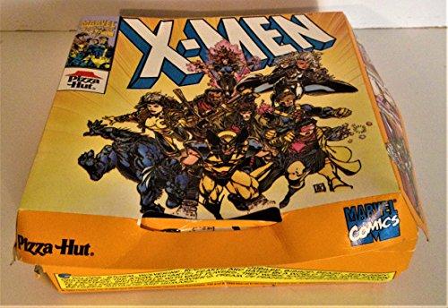 (Marvel Comics: X-Men Pizza Hut 1993 Mini Pizza Box UNUSED)