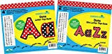 Barker Creek 2'' & 4'' Poster Letters & Bulletin Board Letter Pop-Out Set - Dots (BCP-3501)