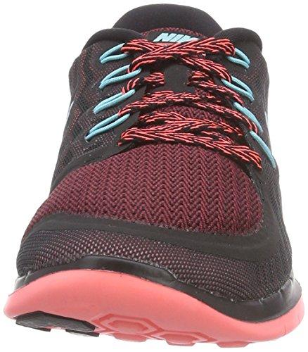 Nike - Zapatillas de running, Mujer Negro (Black/Light Aqua/Rio/Hot Lava)