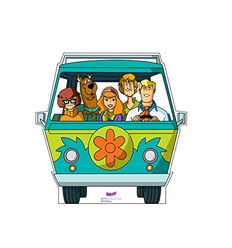 Advanced Graphics Mystery Machine Life Size Cardboard Cutout Standup - Scooby-Doo! Mystery Incorporated ()