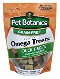 Cardinal Laboratories Pet Botanics Healthy Omega Dog Treats, Duck, 5-Ounce, My Pet Supplies