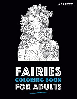 fairies coloring book for adults - Fairy Coloring Books For Adults