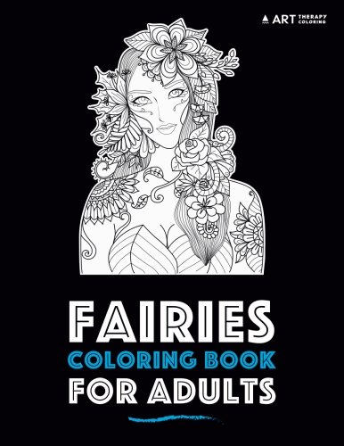 Fairies Coloring Book Adults Therapy product image