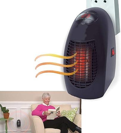 Calentador casa calefactor ventilador de aire caliente 400 W ...