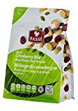 7oz Cranberry Trail Mix Bag from Basse Nuts, Selected Craisin Trail Mix Dried Fruits, Nuts, & Seeds Snack with Dried Cranberries, Roasted Peanuts, Raisins, Raw Pumpkin Seeds, Roasted Cashews & More!