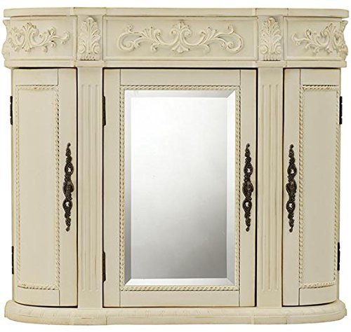 Home Decorators Collection Chelsea 3 Door Mirror Wall Bath Cabinet, 28