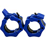 "Greententljs Olympic Barbell Clamps 2 inch Quick Release Pair of Locking 2"" Pro Olympic Weight Bar Plate Locks Collar Clips for Workout Weightlifting Fitness Training"