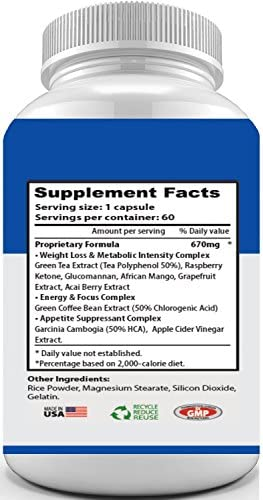 PHEN-MAXX XR 37.5 ® (Pharmaceutical Grade OTC - Over The Counter - Weight Loss Diet Pills) - Advanced Appetite Suppressant - Increase Energy - Clinically Proven Ingredients 9