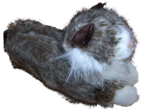 Feet and Animal White Premium Styles and Cat Mens 50 Foot Happy Womens Full Gray Slippers 1wqxdUqC