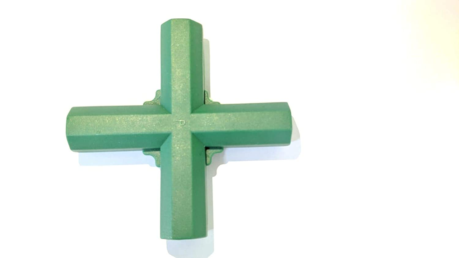 easynets 4 Way Cross Connector 4PCS (16mm in Diameter) Ideal for our Plastic Coated Canes